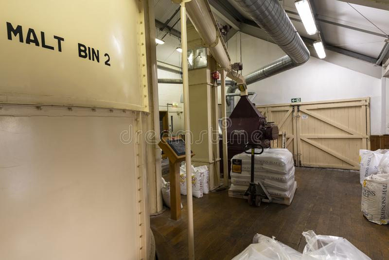 Van de Moutbiervatten Brouwerij Ringwood stock fotografie