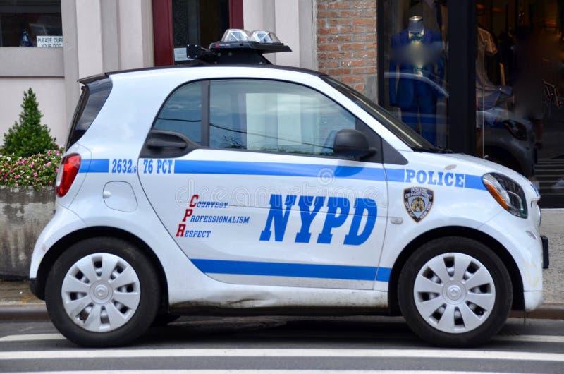 Van de de Politieafdeling van New York de Slimme Auto royalty-vrije stock foto