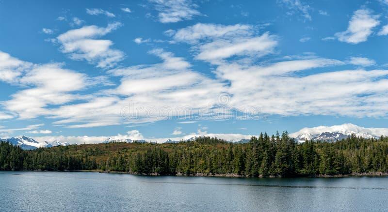 Van de prinswilliam van Alaska het correcte panorama royalty-vrije stock afbeeldingen