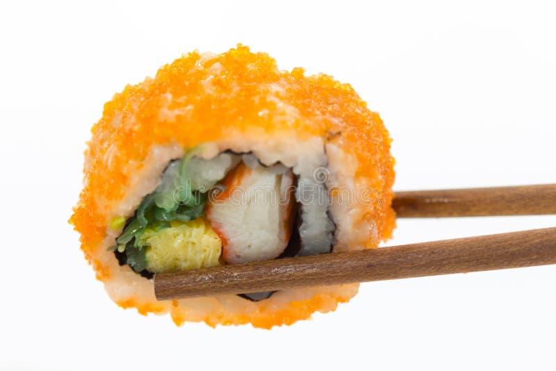 Van de reeksnigiri van sushi de sushimaaltijd royalty-vrije stock foto's