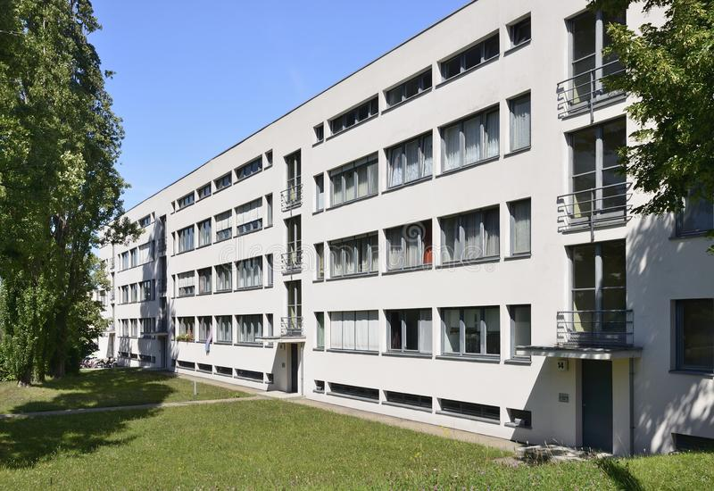 Van de Rohe δυτική πλευρά σπιτιών, Weissenhof, Στουτγάρδη στοκ φωτογραφία με δικαίωμα ελεύθερης χρήσης