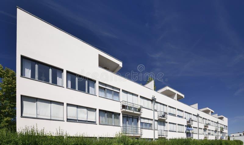 Van de Rohe house east side, Weissenhof, Stuttgart stock photos