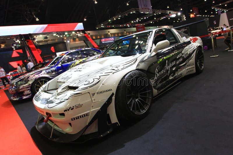 Van de sportwagenbangkok van Nissan 200SX de Autosalon royalty-vrije stock fotografie