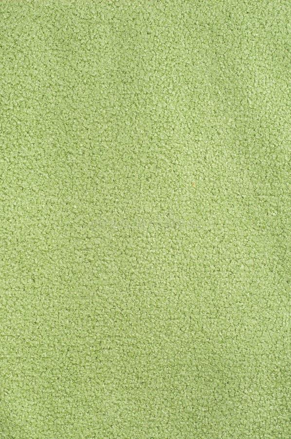 Van de de stoffendoek van de close-up de groene textuur textielachtergrond royalty-vrije stock afbeelding