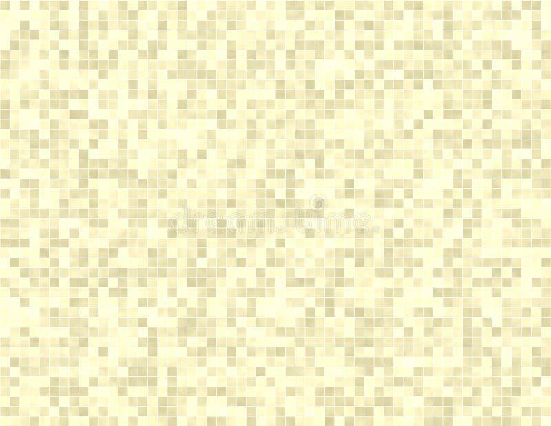 Van de Tegel van de badkamers Naadloze Kleine Tegels Als achtergrond stock illustratie