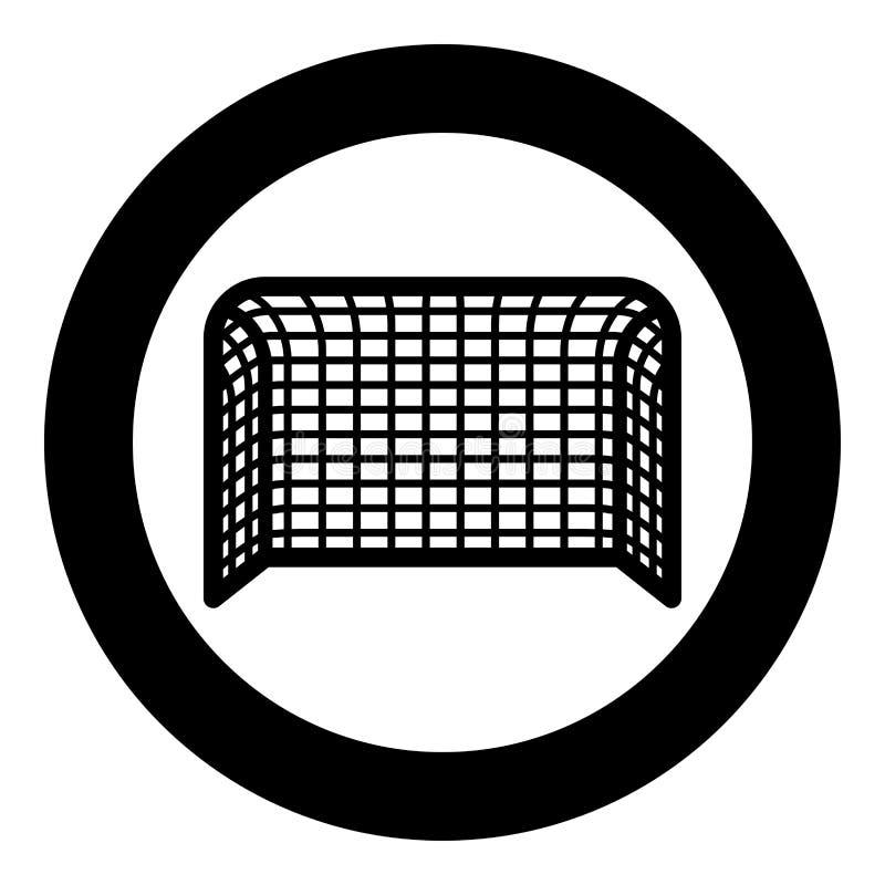 Van de de Voetbalpoort van de voetbalpoort van de het Handbalpoort van de het Conceptenscore illustratie van de het pictogram de  stock illustratie