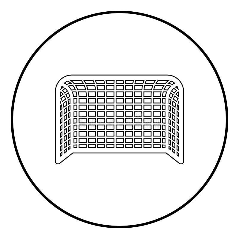 Van de de Voetbalpoort van de voetbalpoort van de het Handbalpoort van de het Conceptenscore illustratie van de het pictogram de  royalty-vrije illustratie