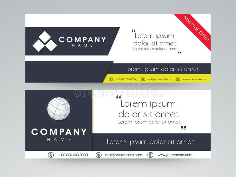 Van de Webkopbal of banner ontwerp vector illustratie