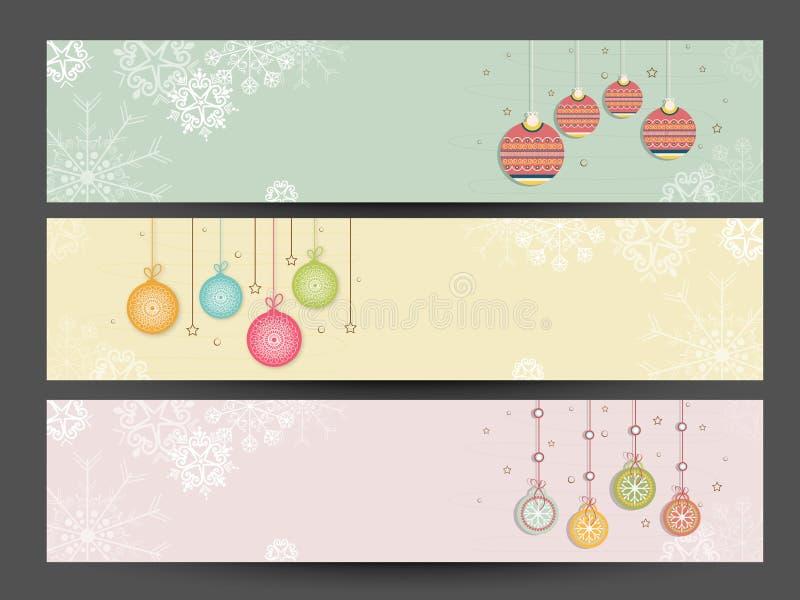 Van de websitekopbal of banner ontwerp met ruimte voor uw tekst vector illustratie