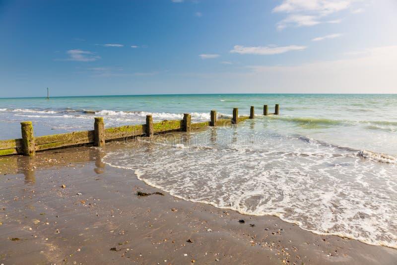 Van de West- brackleshambaai Sussex, Engeland stock foto's