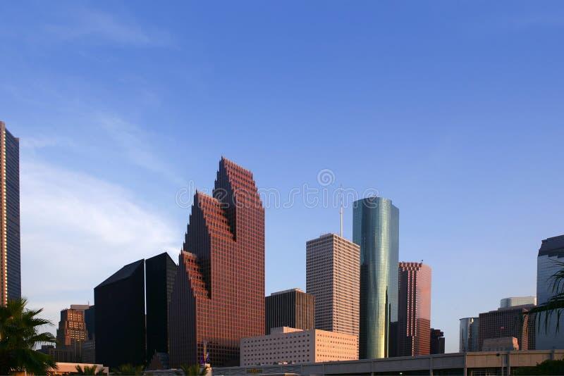 Van de wolkenkrabbergebouwen van de stad de stedelijke mening van de binnenstad stock afbeelding