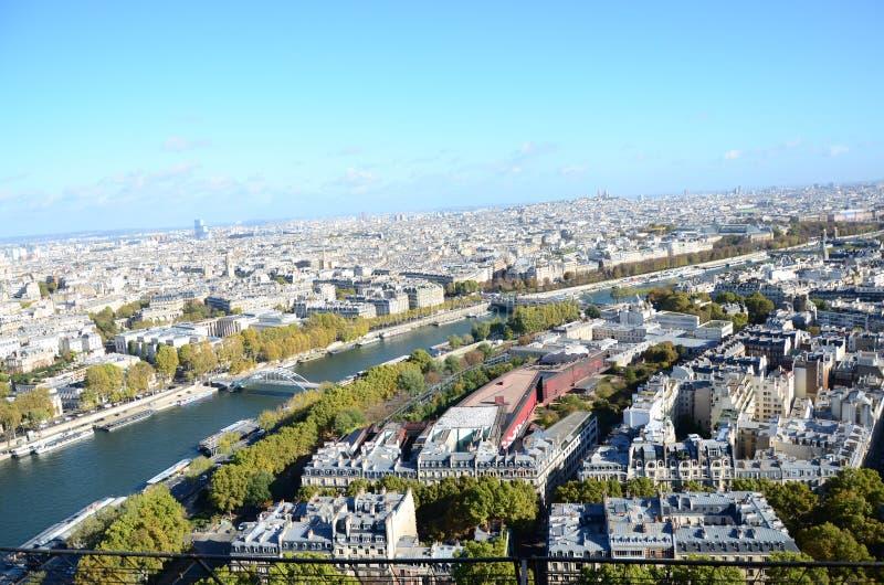 Van de de Zegenrivier van Parijs de Toren van de Meningseiffel royalty-vrije stock fotografie