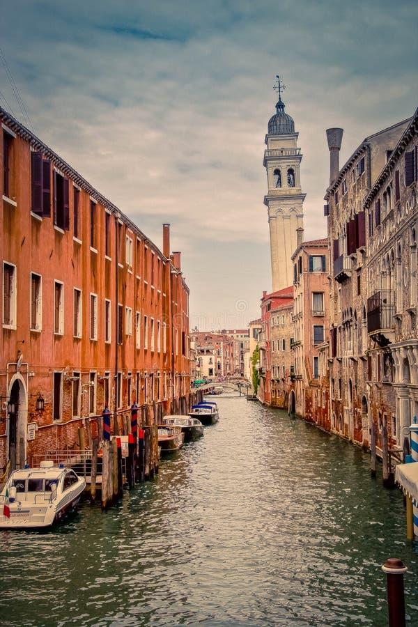 Van deigreci van San Giorgio de Belangrijkste kerk in Venetië, Italië stock foto's