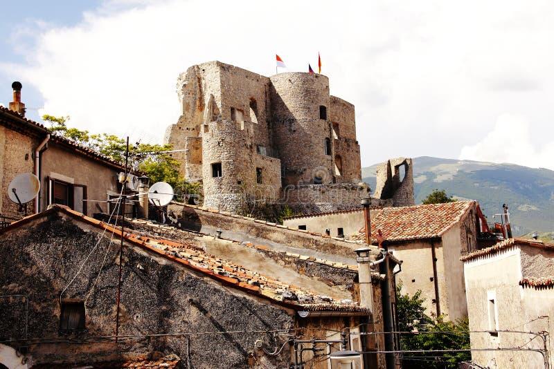 Van dellazona van de V.N. van Moranocalabro è comune calabrese dellaprovincia Di Cosenza settentrionale royalty-vrije stock foto