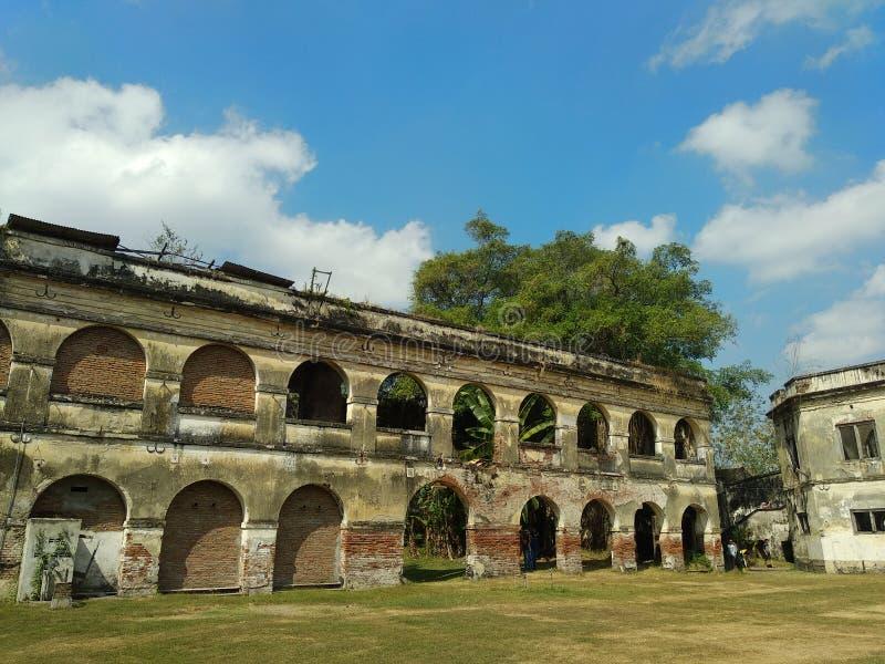 Van Den Bosch Castle Ngawi Indonesien arkivbild