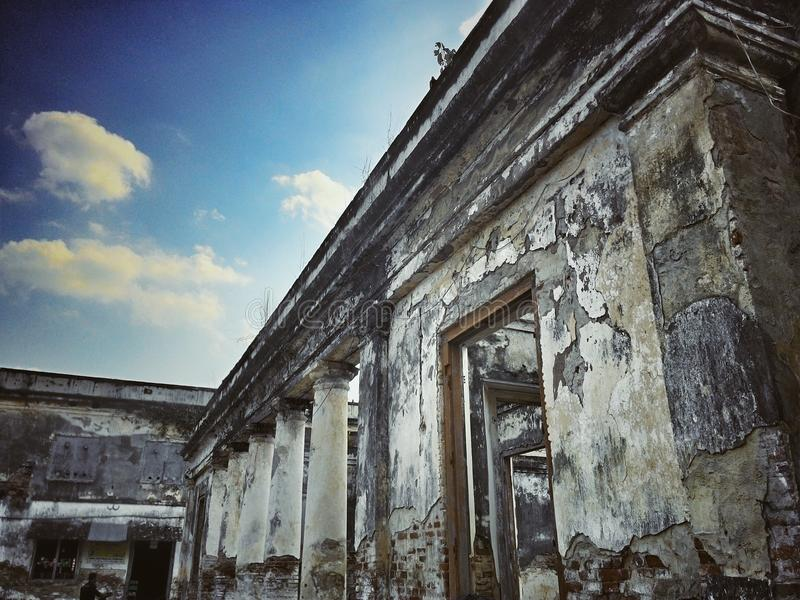 Van Den Bosch Fortress. An Ancient Building, taken by Khoirul Anam, from Ngawi, East Java, Indonesia stock images