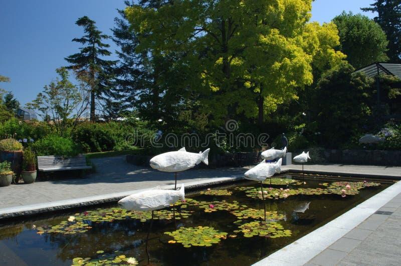 Van Dusen Gardens, Vancouver stockbild