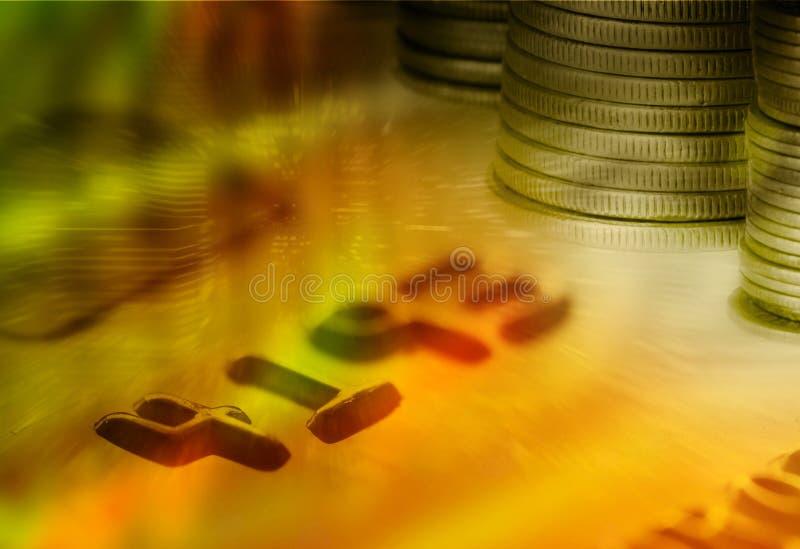 Van geldbeheer en financiën concept stock foto's