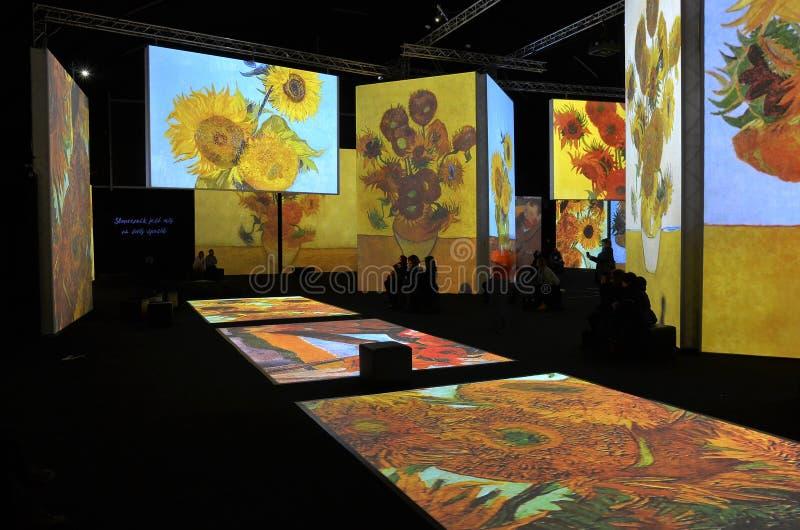 Van Gogh Alive immagine stock
