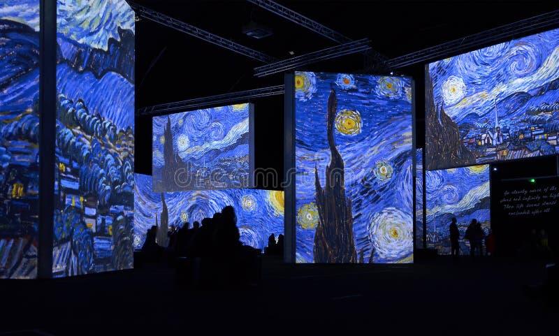 Van Gogh Alive image libre de droits