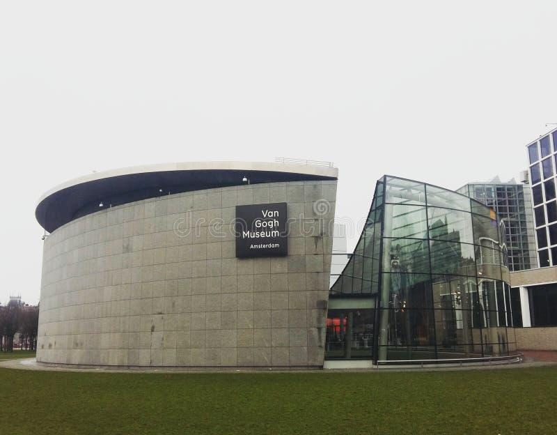 Van Gogh Museum στοκ φωτογραφία με δικαίωμα ελεύθερης χρήσης
