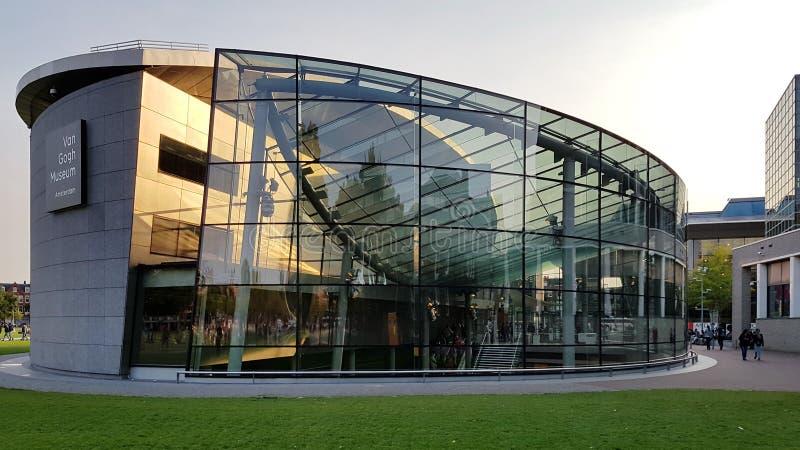 Van Gogh Museum, Amsterdam imagen de archivo