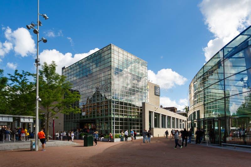 Van Gogh Museum Amsterdam royaltyfria foton