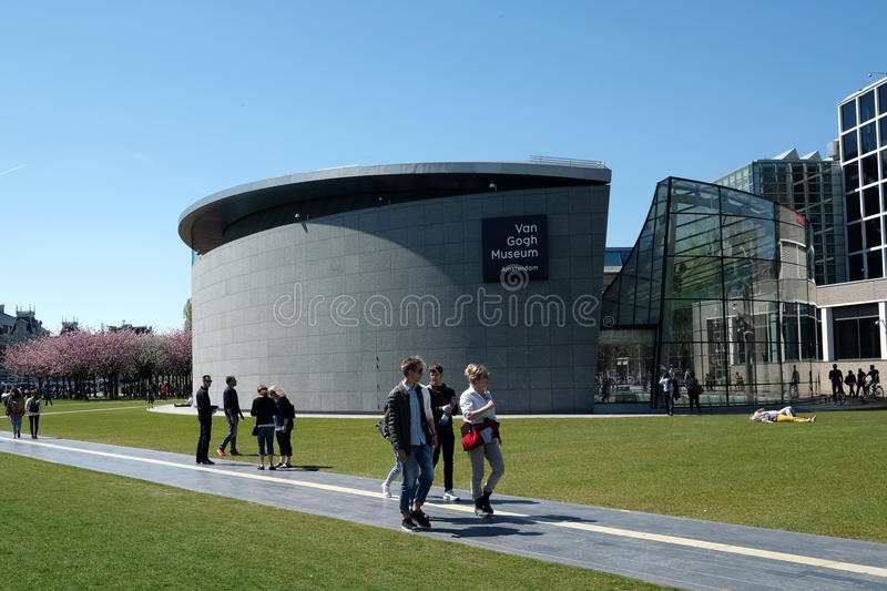 The Van Gogh Museum stock photography