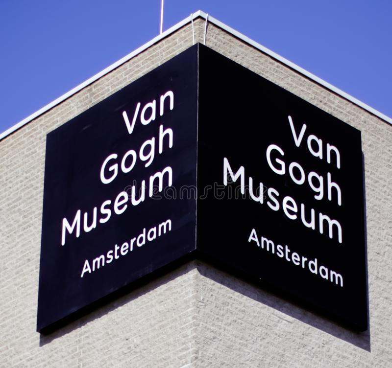 Van Gogh Museum Amsterdam royalty free stock photography