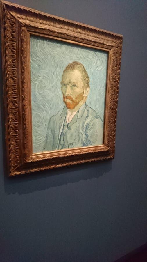 Van Gogh. Pictural Van Gogh Museum Paris royalty free stock images