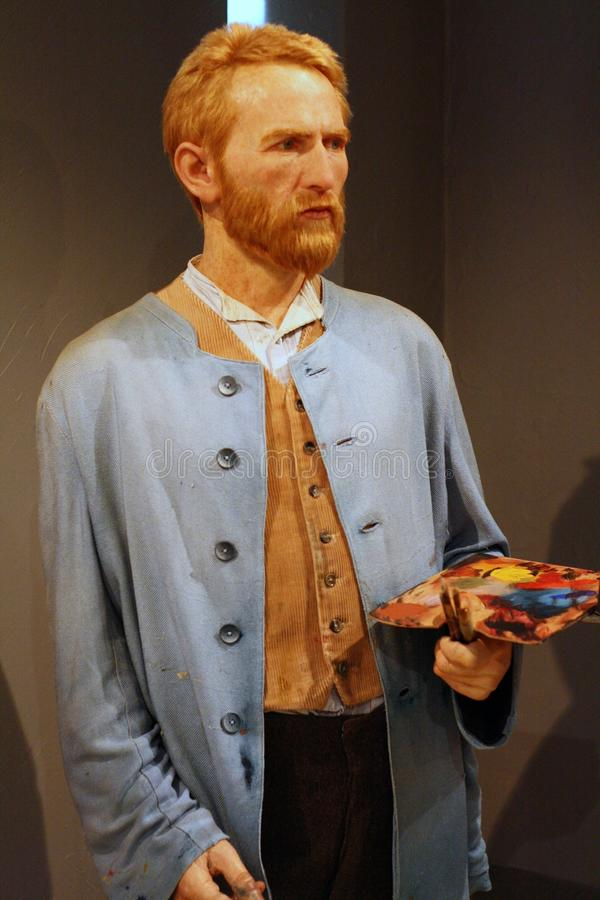 Download Van Gogh wax figure editorial stock photo. Image of expression - 28477018