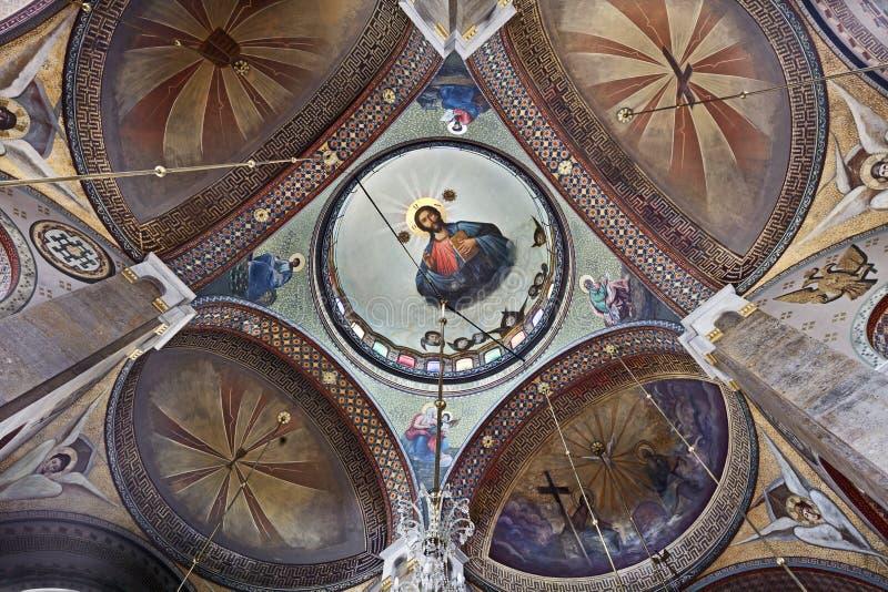 Van Hagiatriada (Heilige Drievuldigheid) de Kerk royalty-vrije stock foto