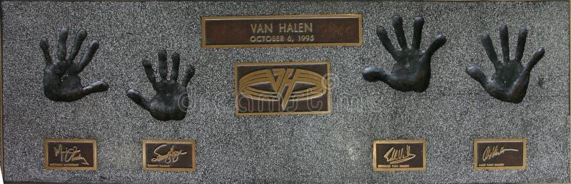 Van Hallen royalty-vrije stock afbeelding