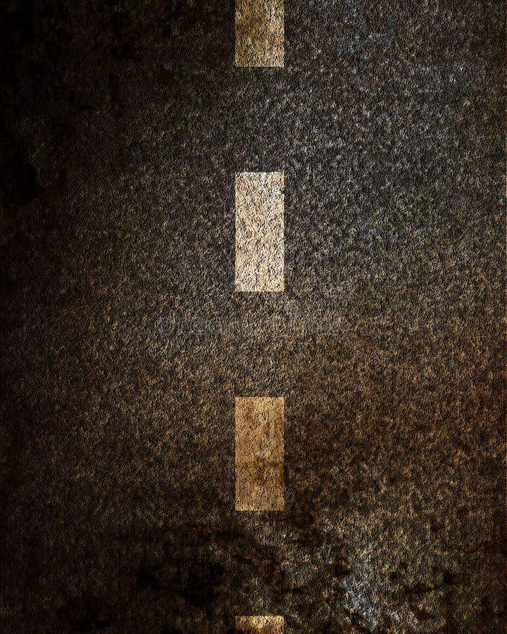 Van het achtergrond asfalt textuur vector illustratie