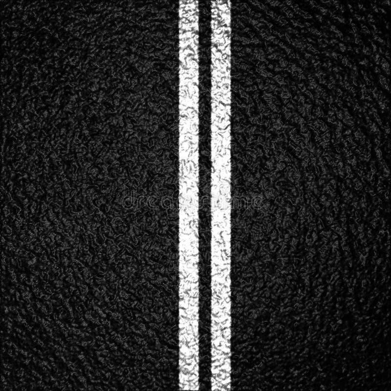 Van het achtergrond asfalt textuur stock illustratie