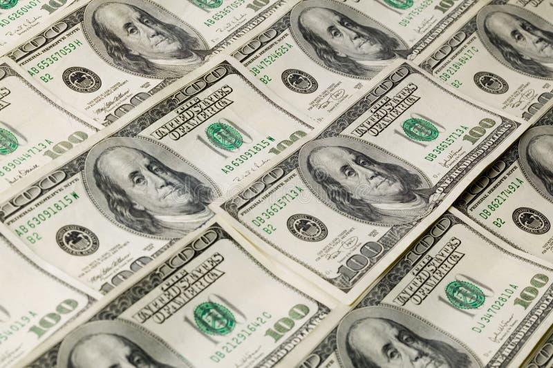 Van het achtergrond geld Patroon stock foto's