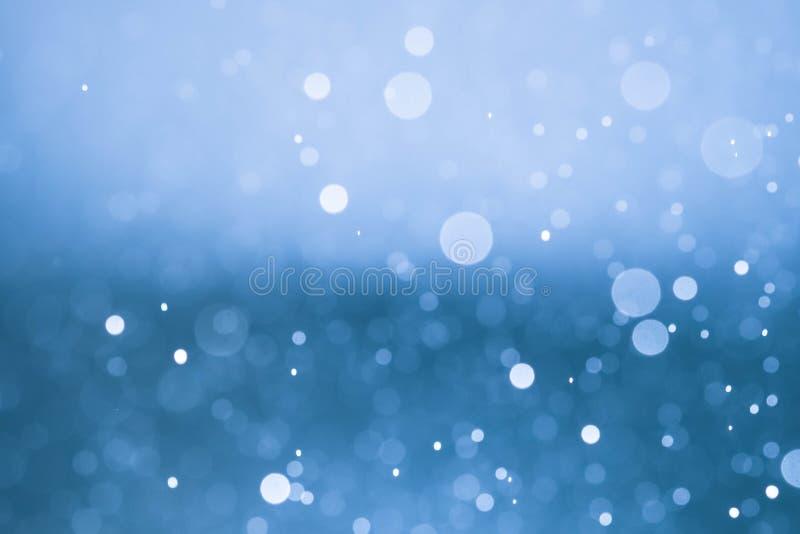 Van het achtergrond Kerstmisonduidelijke beeld bokeh textuur abstracte lichte glitterin stock illustratie