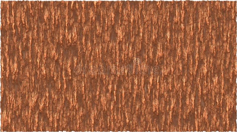Van het achtergrond schorsthema vectorafbeeldingen in bruin vector illustratie