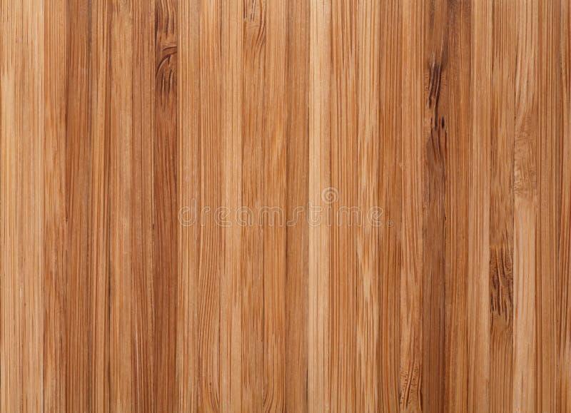 Van het bamboe houten textuur als achtergrond stock foto
