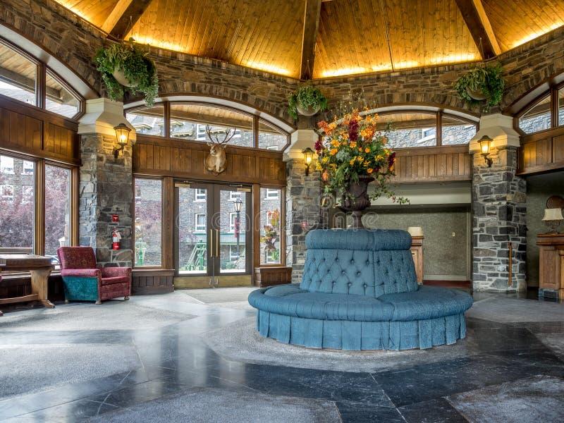 Van het Banff-de Lenteshotel royalty-vrije stock afbeeldingen