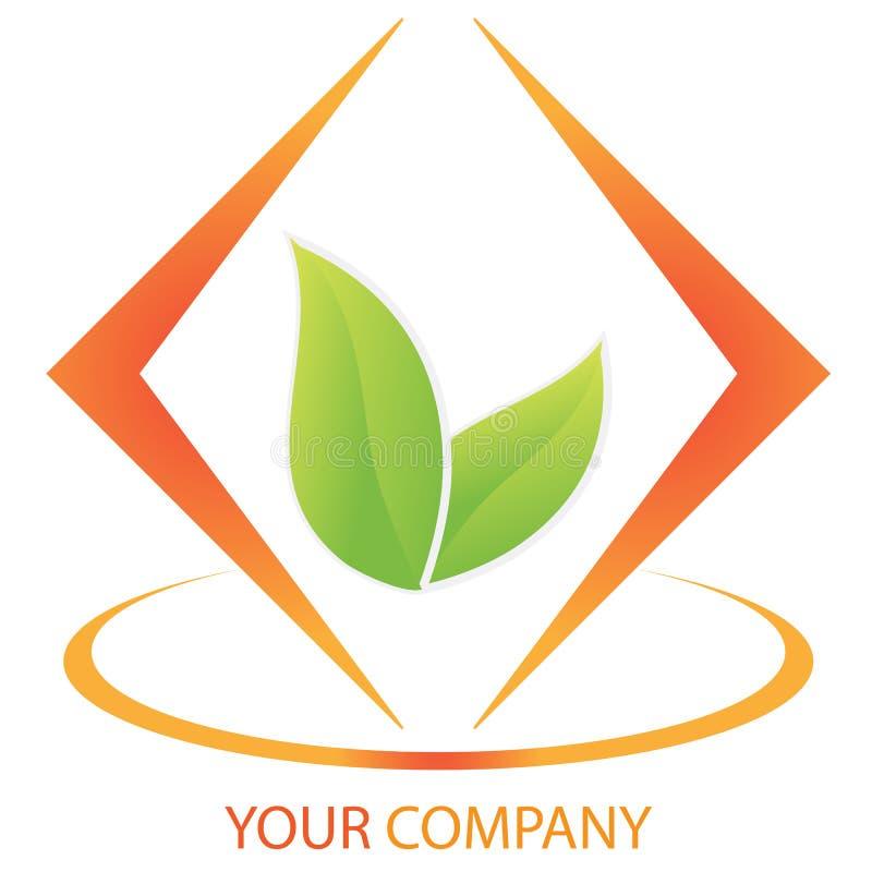 Van het bedrijfs bedrijf embleem - Investering vector illustratie