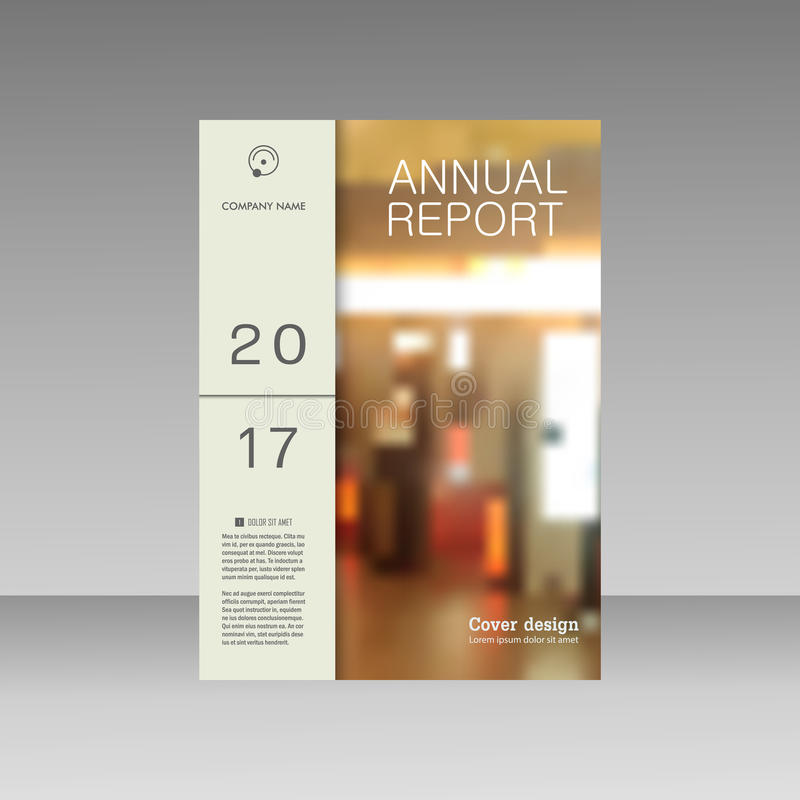 Van het bedrijfs brochuremalplaatje vectorlay-out, het jaarverslag van het dekkingsontwerp, tijdschrift, vlieger of boekje met dy stock illustratie