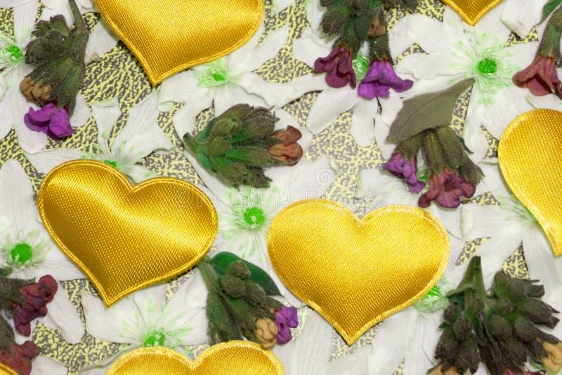 Van het de van het achtergrond hartsuikergoed de stapel Dagpatroon van Valentine royalty-vrije stock afbeeldingen