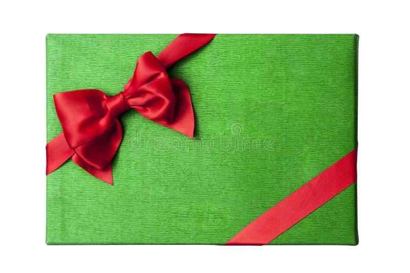 Van het de doosdeksel van de Kerstmisgift de hoogste mening royalty-vrije stock foto's