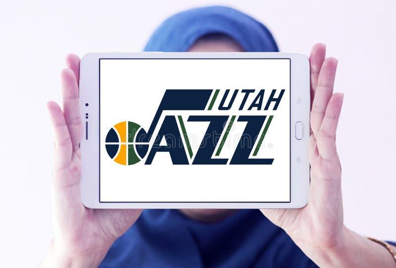 Van het de Jazzbasketbal van Utah het teamembleem royalty-vrije stock foto