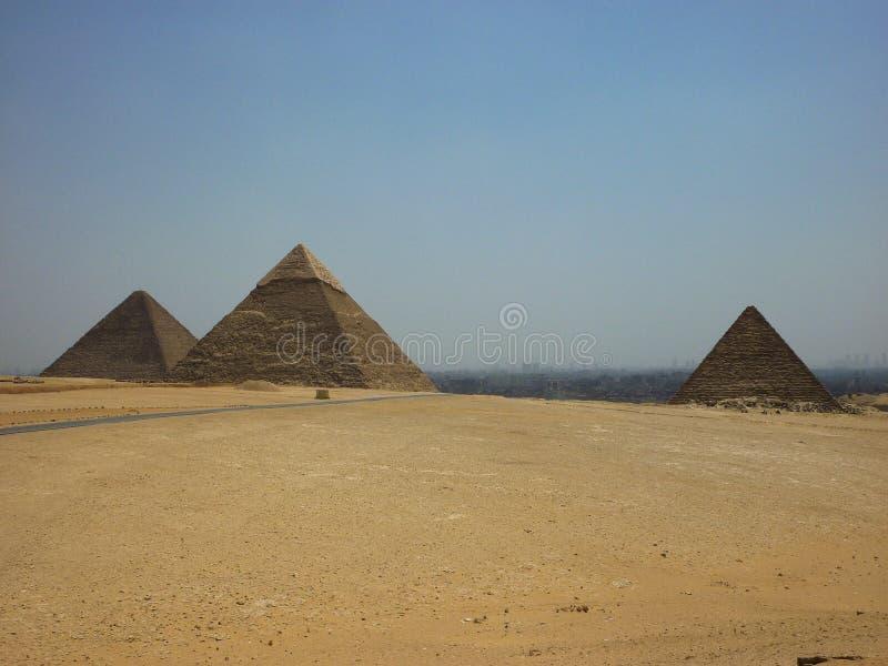 Van het de Piramideszand van Egypte de Zon van de de Woestijnreis stock foto's