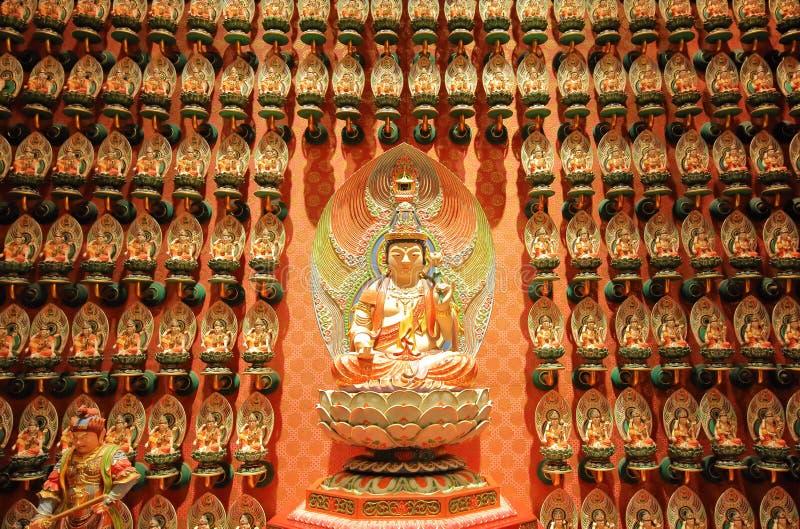 Van het de Tandoverblijfsel van Boedha de Tempelchinatown Singapore stock afbeeldingen