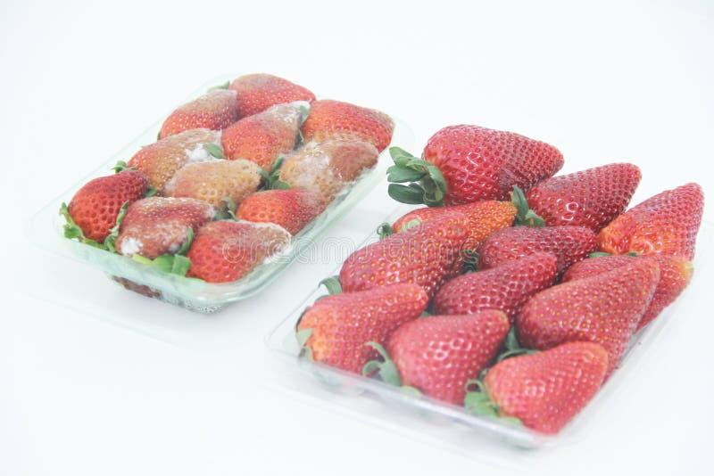 Van het de vorm heerlijk gezond fruit van het aardbeivoedsel landbouw geïsoleerd Sao Paulo Brazil royalty-vrije stock fotografie