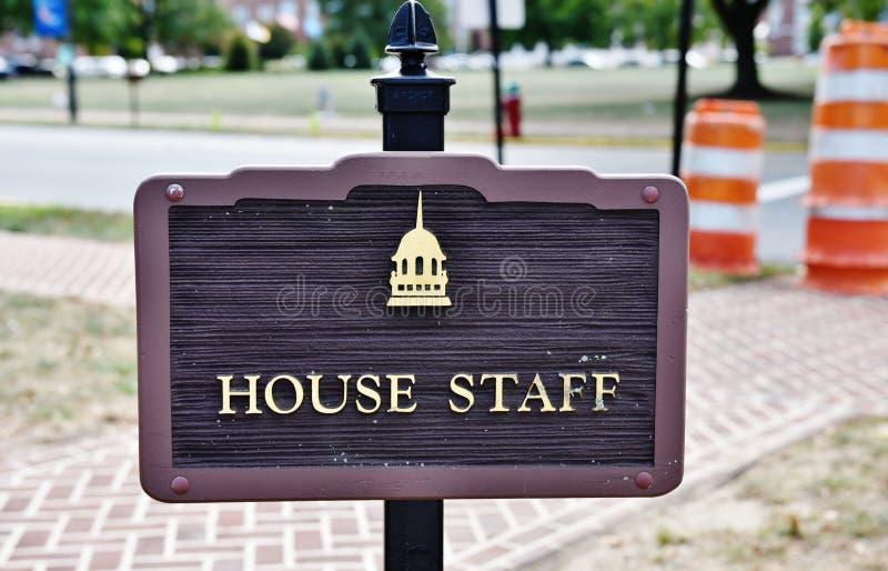 Van het de zaalhuis van Delaware wetgevend het personeelsparkeren royalty-vrije stock foto's