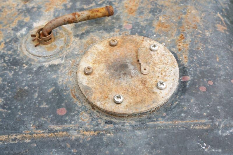 Van het het dekselantivriesmiddel van het auto de automobiele koelmiddel radiator van de het waterstop stock fotografie